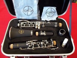 ZONDA ZCL-110 CLARINET WITH CASE AND ACCESSORIES - BRAND NEW WITH WARRANTY