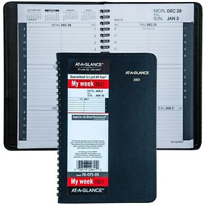 2021 At a glance 70 075 05 Weekly Appointment Book 4 7 8 X 8