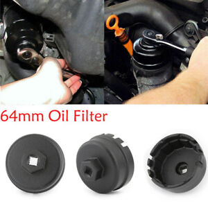 64mm 14 Flute Oil Filter Cap Wrench Tool For Toyota Lexus Scion 2 5l 5 7 Engine
