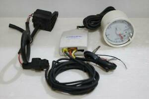 Trust Greddy Electronic Boost Meter 60 With Warning Function Data Link Unit