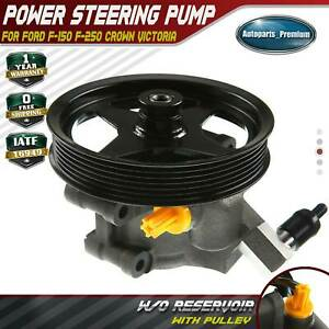 Power Steering Pump With Pulley For 1997 2003 Ford F 150 Pickup 4 2l 4 6l 5 4l