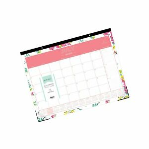Day Designer For Blue Sky 2020 2021 Academic Year Monthly Desk Pad Calendar