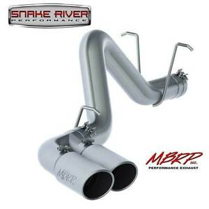 Mbrp 4 Dual Side Exhaust For 2011 2019 Chevy Gmc Duramax Diesel 6 6l S6033304