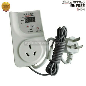Temperature Controller Socket 220v Digital Fridge Freezer Thermostat Aquarium