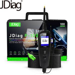 Jdiag P100 Automotive Vehicle Electrical System Circuit Tester Tools Truck Car