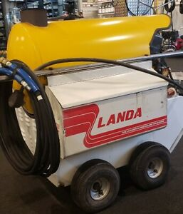 Used Landa Phwii 1ph diesel 4gpm 2000psi Hot Water Pressure Washer