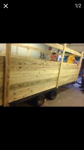 Wood 16 Ft Trailer Local Pickup Only