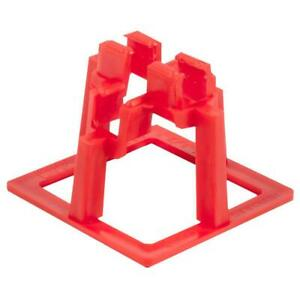 Hercules 1 1 2in Rebar Chair 50 Pack Support System Strong Concrete Applications