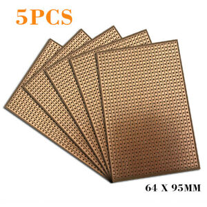 Strip Board Printed Pcb Circuit Board Vero Prototyping Track 3 Sizes pack Of 5