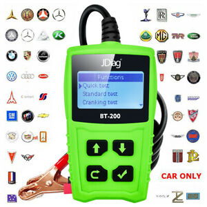 Hot 12v Car Battery Load Testers 100 2000 Cca Auto Bad Cell Analyzer Jdiag Bt200
