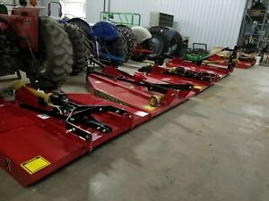 4 5 6 Rotary Cutter Bush Hog 4 5 6 Foot Cut Brush Mower New 72 60 48 Inch
