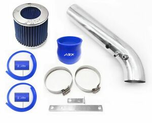 Airx Racing Blue For 1999 2000 Honda Civic 1 6l L4 Ex Hx Si Air Intake Kit