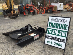 2019 Erskine 36 Rotary Mower Attachment For Asv Rc30 Terex Pt Skid Steer Loader