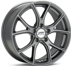 Sport Edition Anthracite P3 18 Inch Alloy 4 Wheel Set For Car Used set Of 4