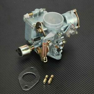 Carb Carburetor Fit For Vw 34 Pict 3 12v Electric Choke 1600cc 113129031k Usa
