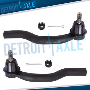 Pair 2 Front Outer Tie Rod Ends For 2006 2007 2008 2009 2010 2011 Honda Civic