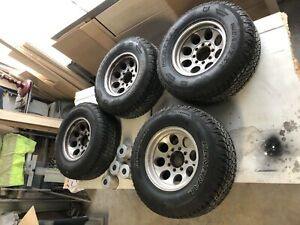 Mickey Thompson 18 Wheels And 285 70r17 General Grabbers Dodge Ram 2500