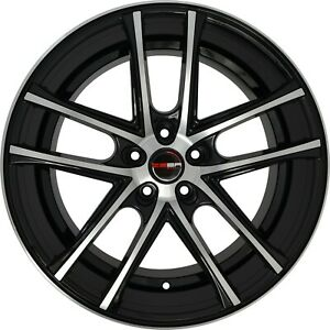 4 G38 Zero 20 Inch Black Rims Et20 Fits Ford Shelby Gt 500 2007 2018