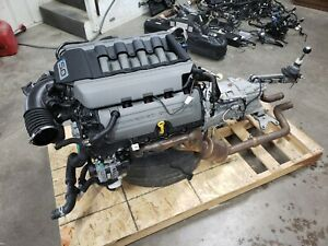2015 Mustang 5 0 Coyote Engine Gt Drivetrain Manual Transmission 435hp 6k Mi