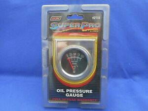 Superpro Line 2115 Oil Pressure Gauge Kit New In Sealed Package