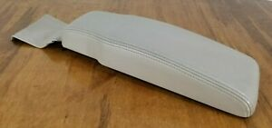94 99 Cadillac Deville Center Console Lid Armrest Gray Leather