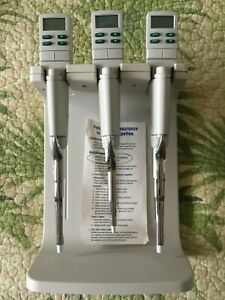 Rainin E3 Single Channel Pipettes With E3 Rapid Charge Stand Medical Lab Tools