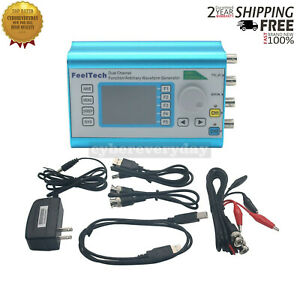 Function Arbitrary Waveform Generator Dual channel 100mhz Frequency Signal Meter