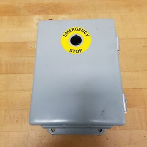Hoffman A 806ch Hinged Electrical Enclosure Used