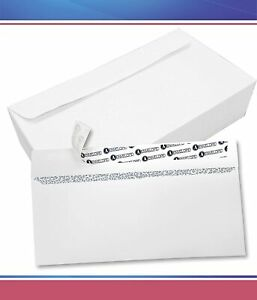 10 Security Tinted Envelopes Self Seal Windowless 500 Count 4 1 8 X 9 1 2