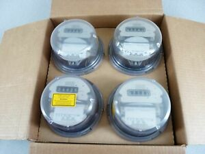 Case Of 4 Landis Gyr Electric Watthour Meters Cl200 240v Type Ms Ta30 4 Lug 5