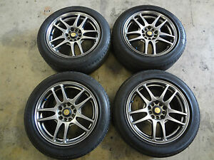 Jdm Rays Wheels 16 Rays Foundry Rims 5x100 5x114 3 Universal 16x7 Wheels 5 Lug