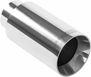 New Magnaflow 35123 Stainless Steel 2 25 Exhaust Tip