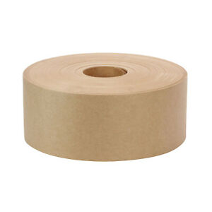 3 X 600 Non reinforced Gummed Paper Water Activated Carton Box Kraft Tape