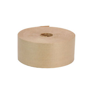 2 7 8 X 450 Heavy Duty Gum Paper Water Activated Carton Sealing Tape Kraft