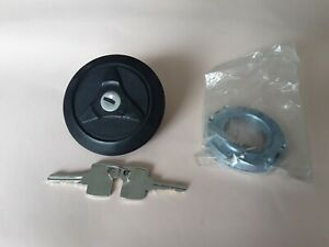 Fuel Cap Snap fit With Key For Fiat 850 1967