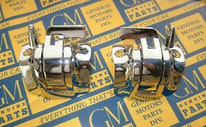 1961 1964 Gm Convertible Top Latch Handle Locks Chrome Plated New Pair