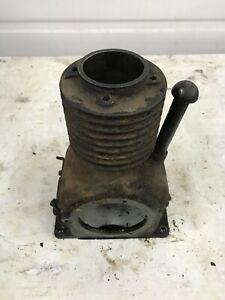 Briggs And Stratton Fh Antique Hit And Miss Gas Engine Cylinder And Block