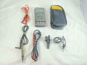 Fluke 787 Processmeter Multimeter With Leads Used Tested And Working