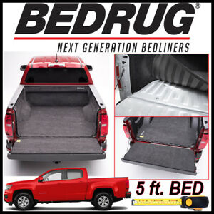 Bedrug Custom Fit Truck Bed Liner Mat For 2015 2020 Chevy Colorado 5 Ft Bed
