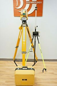 Topcon Ds105 Ac 5 Robotic Total Station Fc5000 Tablet Magnet Sokkia