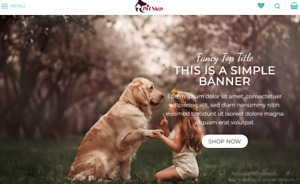 Professional Dropshipping Store automated Pet Supplies E Commerce Website