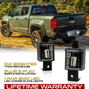 For 2015 2020 Chevy Colorado Gmc Canyon Full Smd Led License Plate Lights Lamps