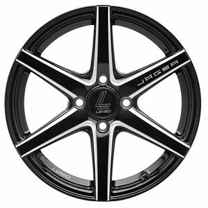 Lenso Tire Wheel Model Jager Jager Craft 17x75 4x100 For Chevrolet Mazda Ford