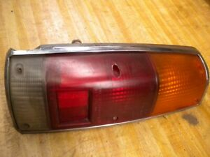 1981 Chevy Luv Isuzu Pup Diesel C223 Elft Side Taillight Assembly