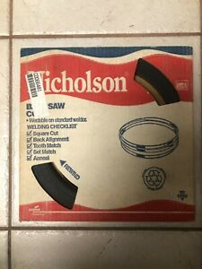 New Nicholson Bandsaw Coil Blade 100 Ft 1 2 025 12 Hook 66481