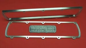 Valve Cover Spacers 3 8 Oldsmobile 350 455 With Gasketlok Olds