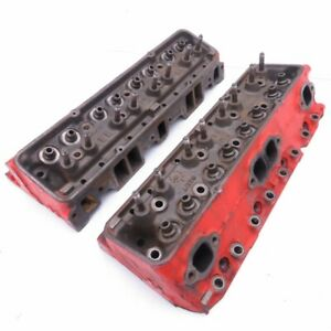 Chevrolet Original Small Block 283ci 327ci Cylinder Head Pair B137 b157 1960 19