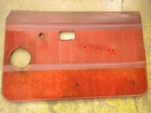 1981 Chevy Luv Isuzu Pup Diesel C223 Right Hand Inside Door Panel