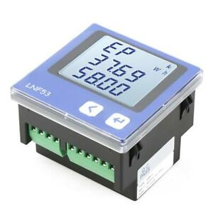 Lnf53 Digital Lcd Three phase Intelligent Power Energy Meter Ac380v 5a 3p4w