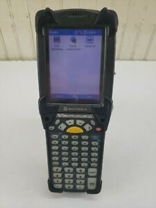 Motorola Symbol Mc9090 Wireless Laser Barcode Scanner W Windows Mobile